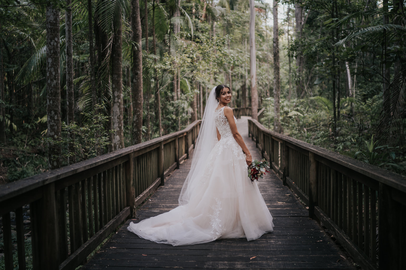 wedding photography Harrys lane buderim - bridal portrait